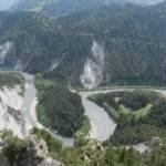 Rhine Gorge Illanz-Reichenau