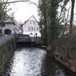 The St. Alban Canal in Basel
