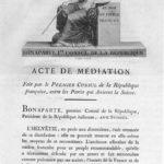 Napoleon und die Schweiz